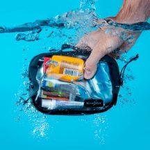 ROCS-09-R3 RunOff® Vízhatlan csomagoló zsák, szürke, S méret (175x126x80 mm)