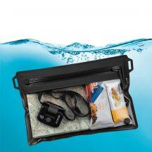 ROFM-09-R3  RunOff® szürke vízhatlan utazótáska (203x178 mm)