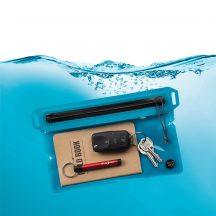 ROFS-03-R3 RunOff® kék vízhatlan utazótáska (172 mm x 138 mm)