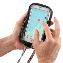 ROPC-09-R3 RunOff® Vízhatlan tok telefonhoz, szürke (98x169x18mm)