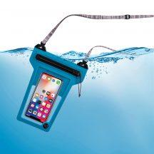 ROPPL-03-R3 RunOff® Vízhatlan telefontok, kék (86x166x14 mm)