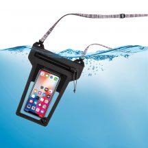ROPPL-09-R3 RunOff® Vízhatlan telefontok, szürke (86x166x14 mm)