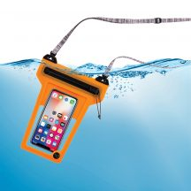 ROPPL-19-R3 RunOff® Vízhatlan telefontok, narancsszín (86x166x14 mm)