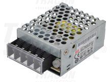 Tracon RS-15-12 Fém házas LED meghajtó szalagokhoz, szabályozható DC kimenet