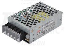 Tracon RS-25-12 Fém házas LED meghajtó szalagokhoz, szabályozható DC kimenet