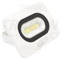 Tracon RSMDLFM10 SMD fényvető mozgásérzékelővel, fehér