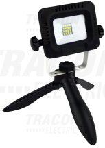 Tracon RSMDTRI10W Összecsukható állványos kézi LED fényvető