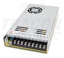 Tracon RSP-320-24 Fém házas LED meghajtó szalagokhoz, szabályozható DC kimenet