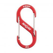 SBA2-10-R6 S-Biner® Alumínium S (dupla) Karabiner #2 - Piros