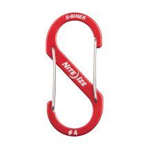 SBA4-10-R6 S-Biner® Alumínium S (dupla) Karabiner #4 - Piros