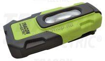 Tracon STLUSB2W Akkumulátoros LED kézi lámpa USB töltő kimenettel