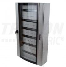 Tracon TGE6010520 Ívelt biztonsági üvegajtós fémelosztószekrény