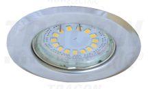 Tracon TLC-2C Beépíthető lámpatest spot fényforrásokhoz, króm