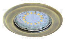 Tracon TLC-2MG Beépíthető lámpatest spot fényforrásokhoz, matt arany