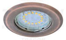 Tracon TLC-2MR Beépíthető lámpatest spot fényforrásokhoz, matt réz