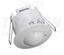 Tracon TMB-061R Mozgásérzékelő, süllyeszthető, radaros, fehér