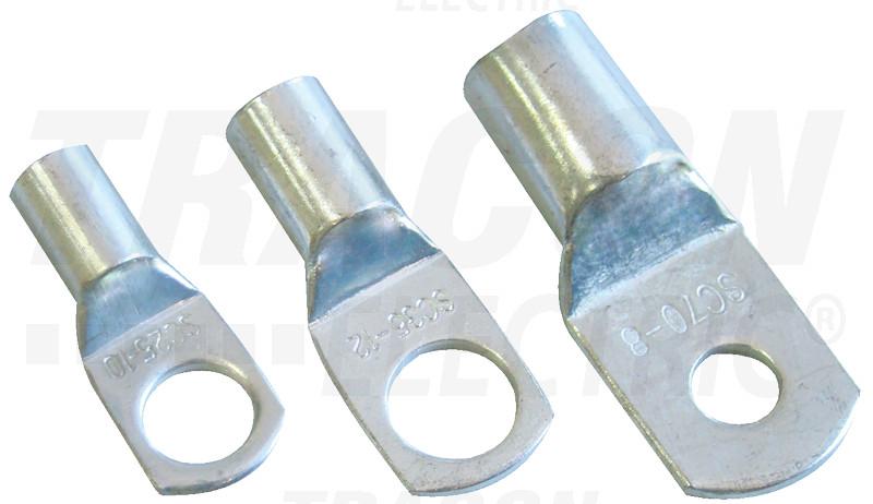 CL35-10 Szigeteletlen szemes csősaru, ónozott elektrolitréz