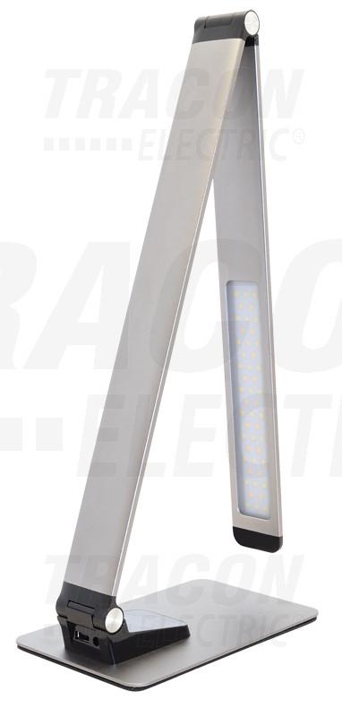 LALUSBM10W Fém asztali LED lámpa USB porttal