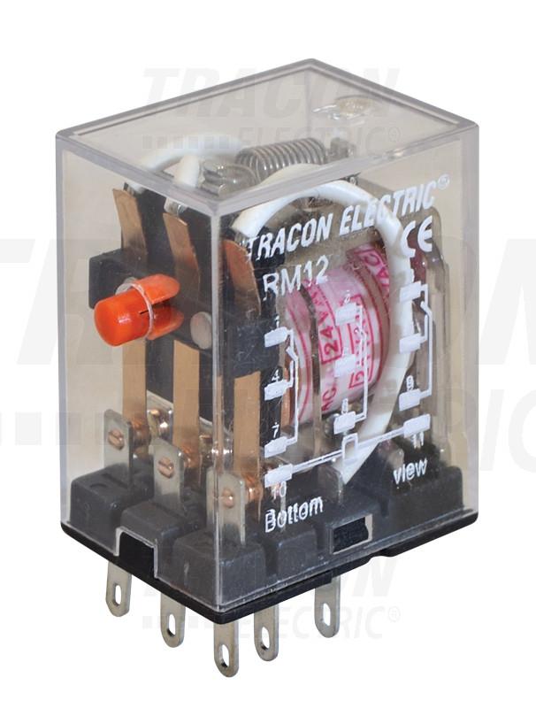 RM12-12DC Miniatűr relé