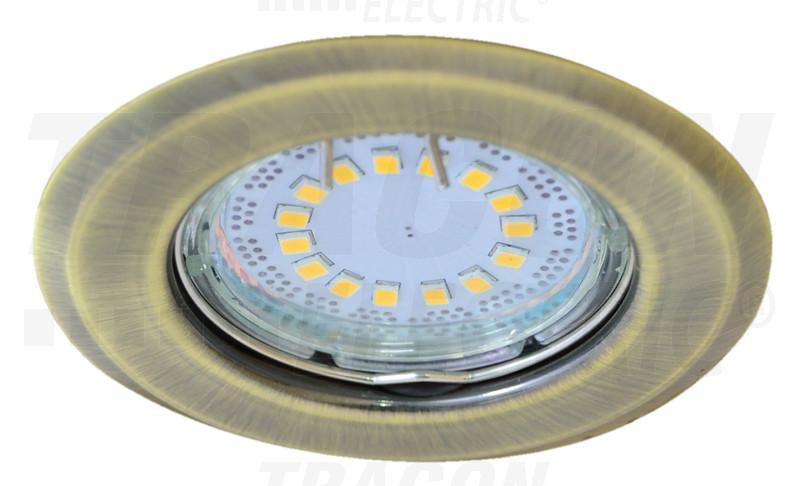 TLC-2MG Beépíthető lámpatest spot fényforrásokhoz, matt arany